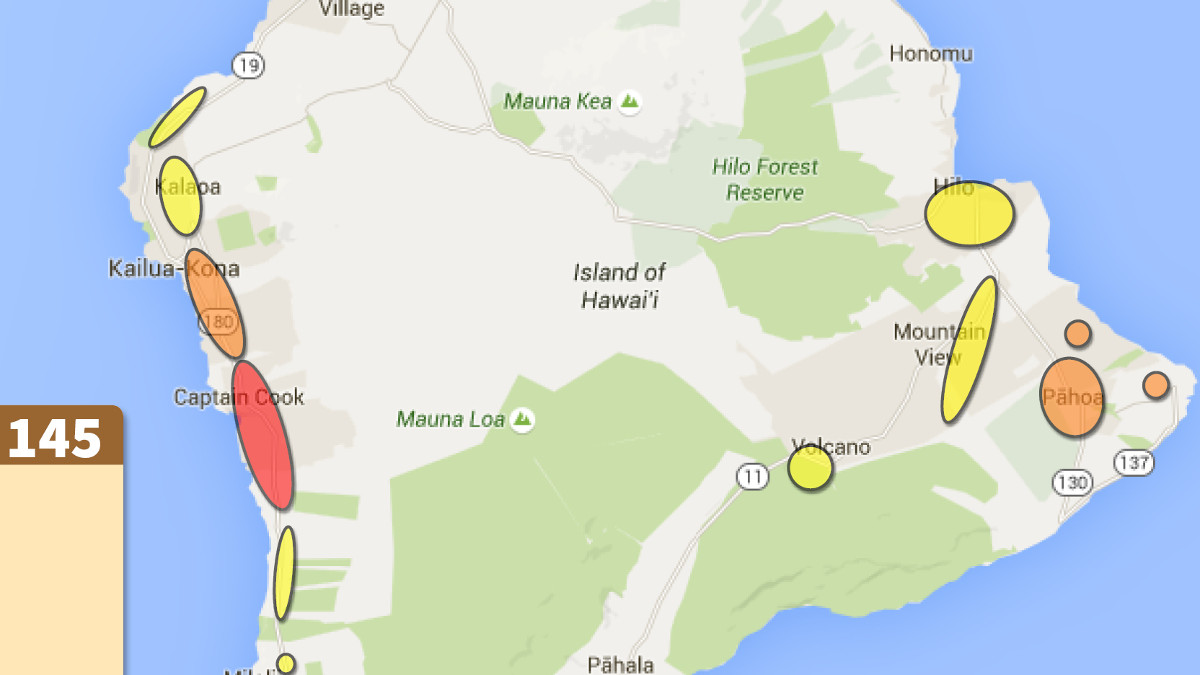 Dengue Fever Case Count Up To 145, New Map Shows Risk Changes