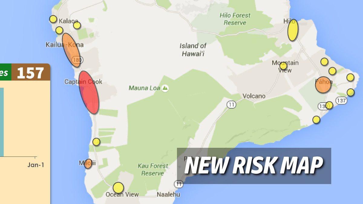 New Dengue Risk Map Posted As Cases Climb To 157
