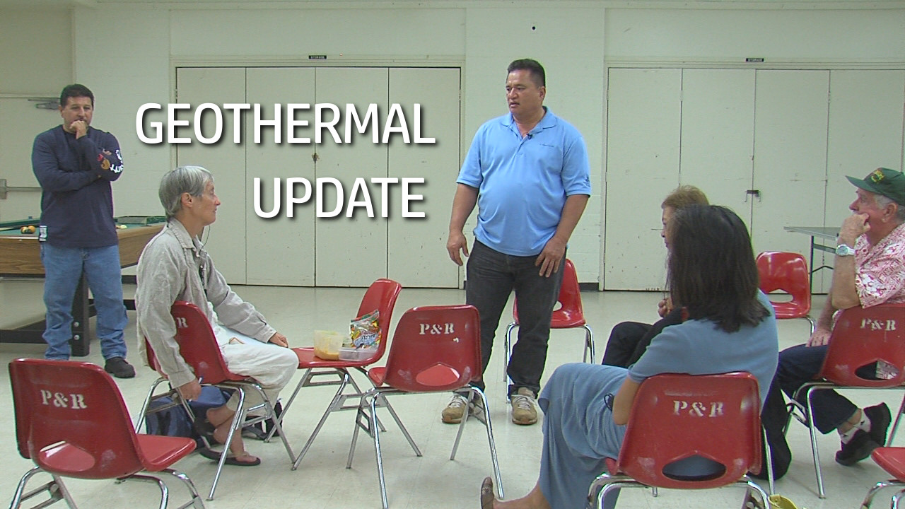 VIDEO: Puna Geothermal Venture Updates Community