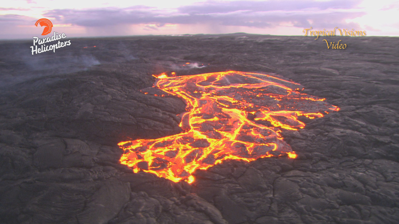 VIDEO: Hawaii Lava Flow Update