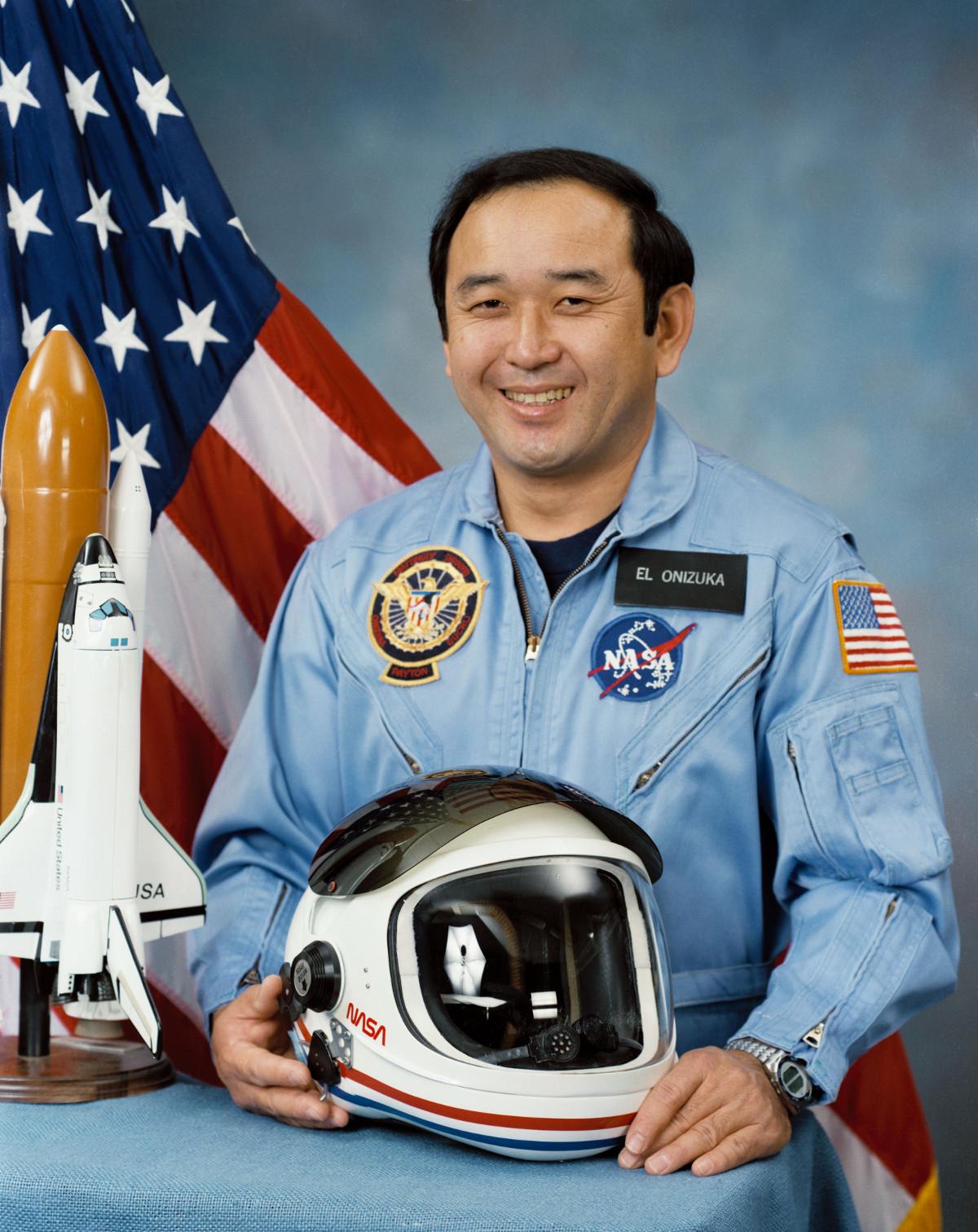 NASA photo of Ellison Shoji Onizuka