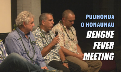 VIDEO: Dengue Fever Meeting At Puuhonua O Honaunau