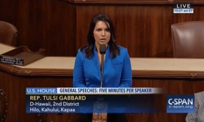 VIDEO: On U.S. Capitol Floor, Gabbard Talks Hawaii Dengue Outbreak