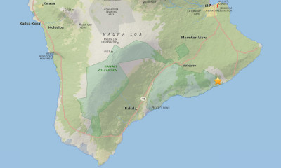 4.1 Earthquake Shakes Hawaii Island