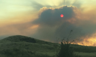 Brush Fire Update: Roads Remain Closed Friday Morning