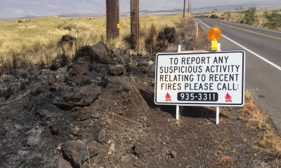 Officials Ask For Help In Case Of Suspicious Brush Fires
