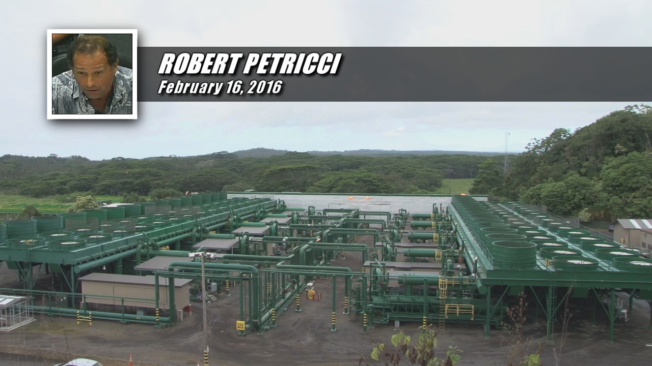 VIDEO: Puna Pono Prez Opposes Geothermal Bill