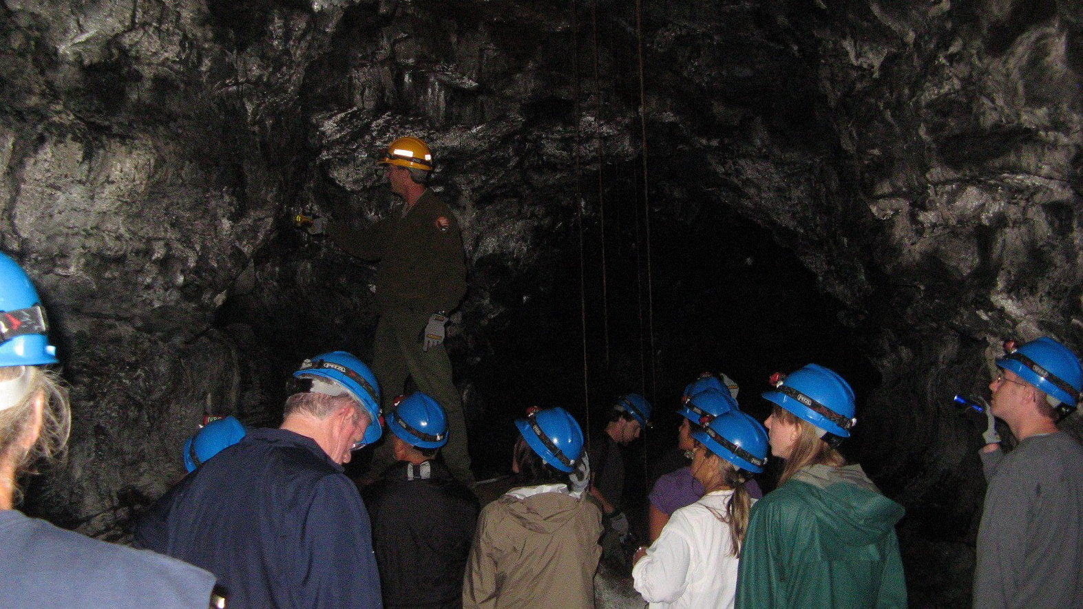 Volcanoes National Park Puapo'o Lava Tube Treks Return