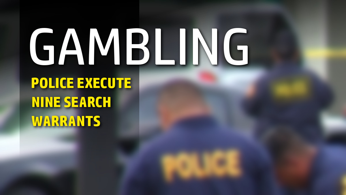 Police Execute Search Warrants In Alleged Gambling Operations