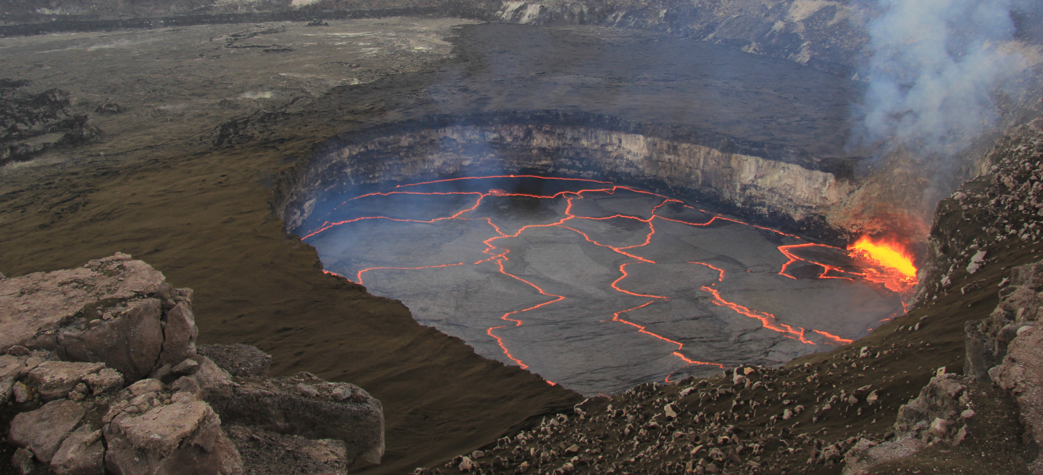 VIDEO: 8 Years Of Volcanic Activity At Kilauea Summit