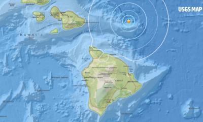 4.7 Earthquake North Of Hawaii, No Tsunami