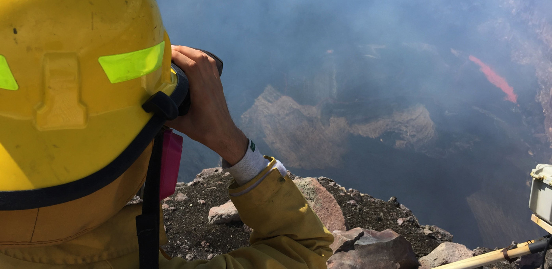 Lava Lake Drops At Kilauea Volcano Summit