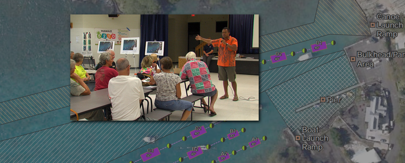 VIDEO: Kona Sounds Off On Keauhou Bay Mooring Plan