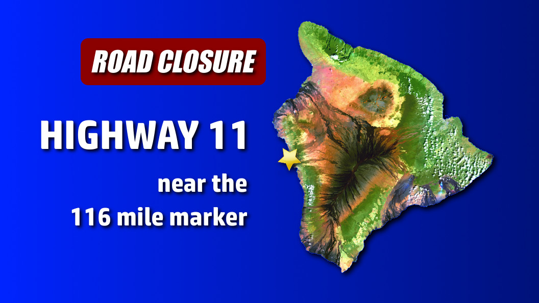 Traffic Accident Closes Highway 11 in Kona