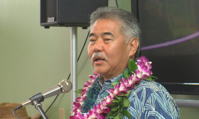 VIDEO: Governor David Ige Gets Political In Kona