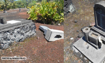 Cemetery Vandalized In Kapoho