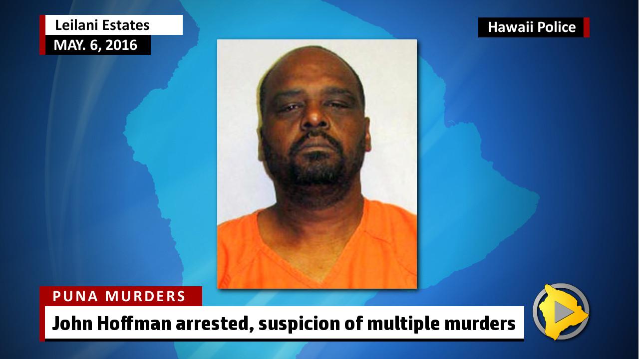 Three Murdered In Leilani Estates, Puna Man Arrested