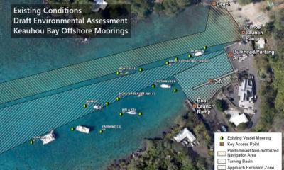 DLNR Scraps Keauhou Bay Mooring Plan