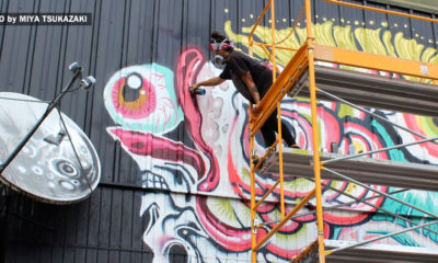 New Murals Going Up In Downtown Hilo