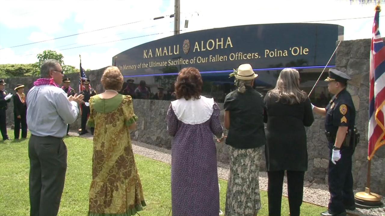 VIDEO: Ka Malu Aloha Unveiled For Police Week