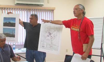 VIDEO: Kalani Flores Presents To Kahu Ku Mauna