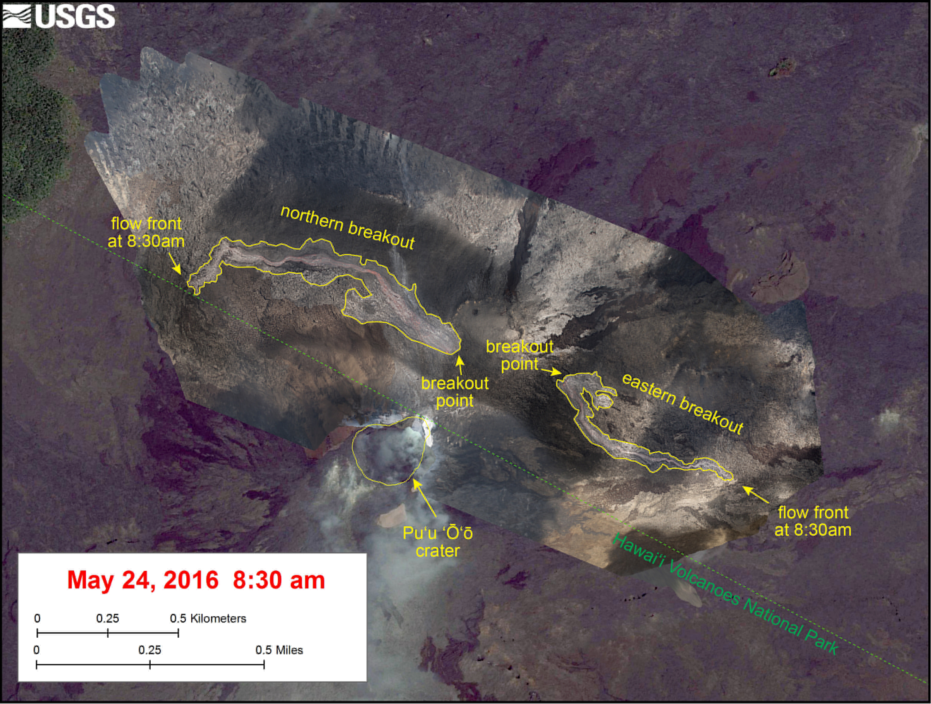 VIDEO: Scientists Flyover, Map New Lava Flow