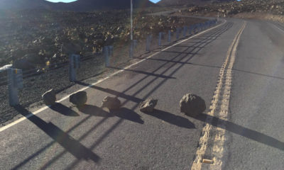 Man Sought After Rocks Placed On Mauna Kea Road