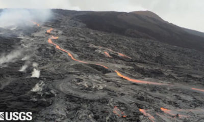 VIDEO: Images, New Map Document Puu Oo Lava Breakouts