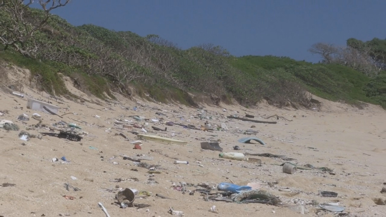 VIDEO: Plastic Dominates Hawaii Marine Debris, Survey Shows