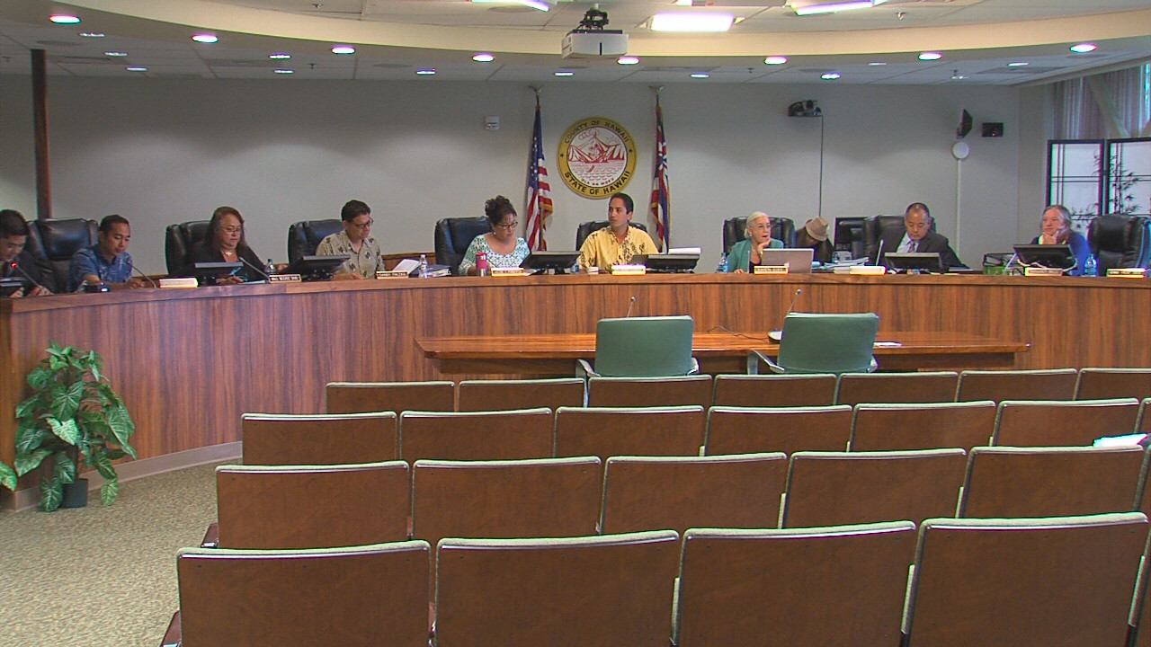 VIDEO: Hawaii County Council Passes Budget