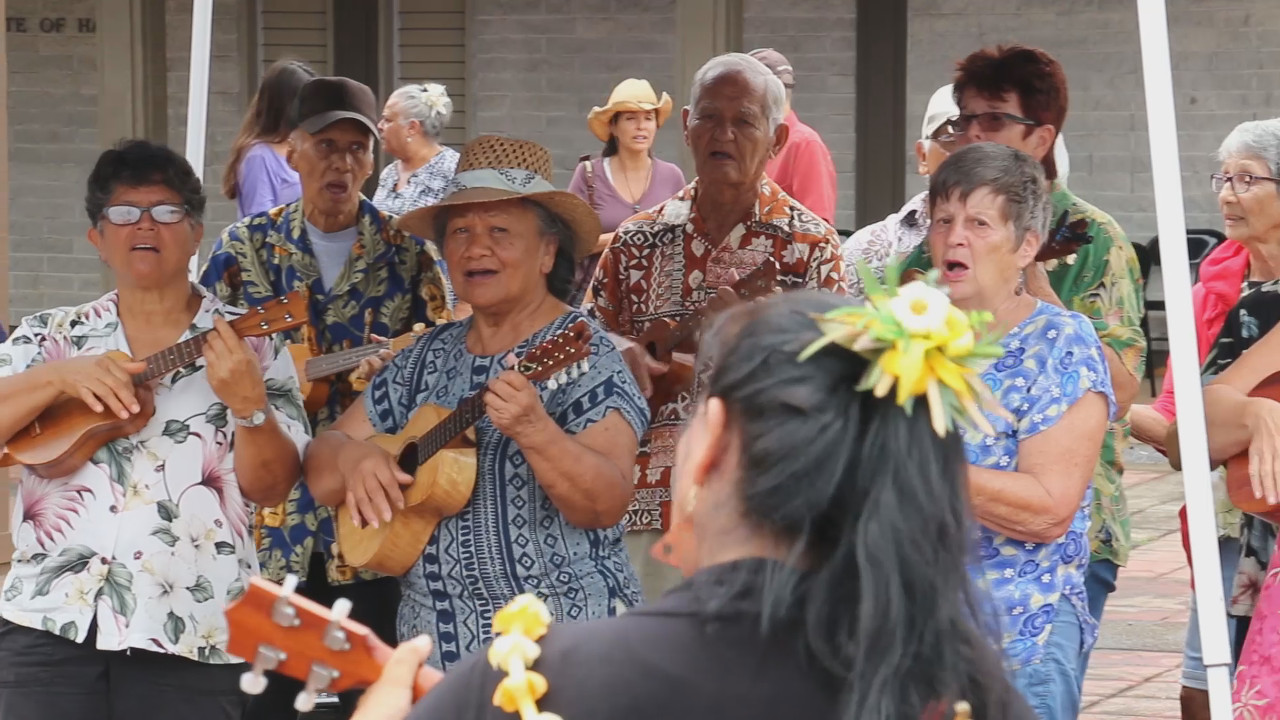 VIDEO: North Kohala Celebrates Renovated Courthouse