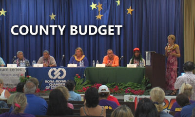 VIDEO: Kona Forum – Candidates Talk County Budget