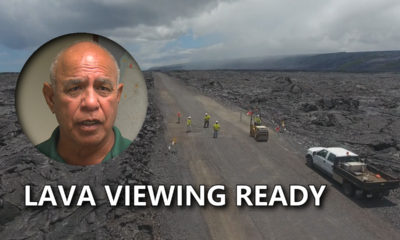 VIDEO: Lava Update – Kalapana Viewing Area Ready