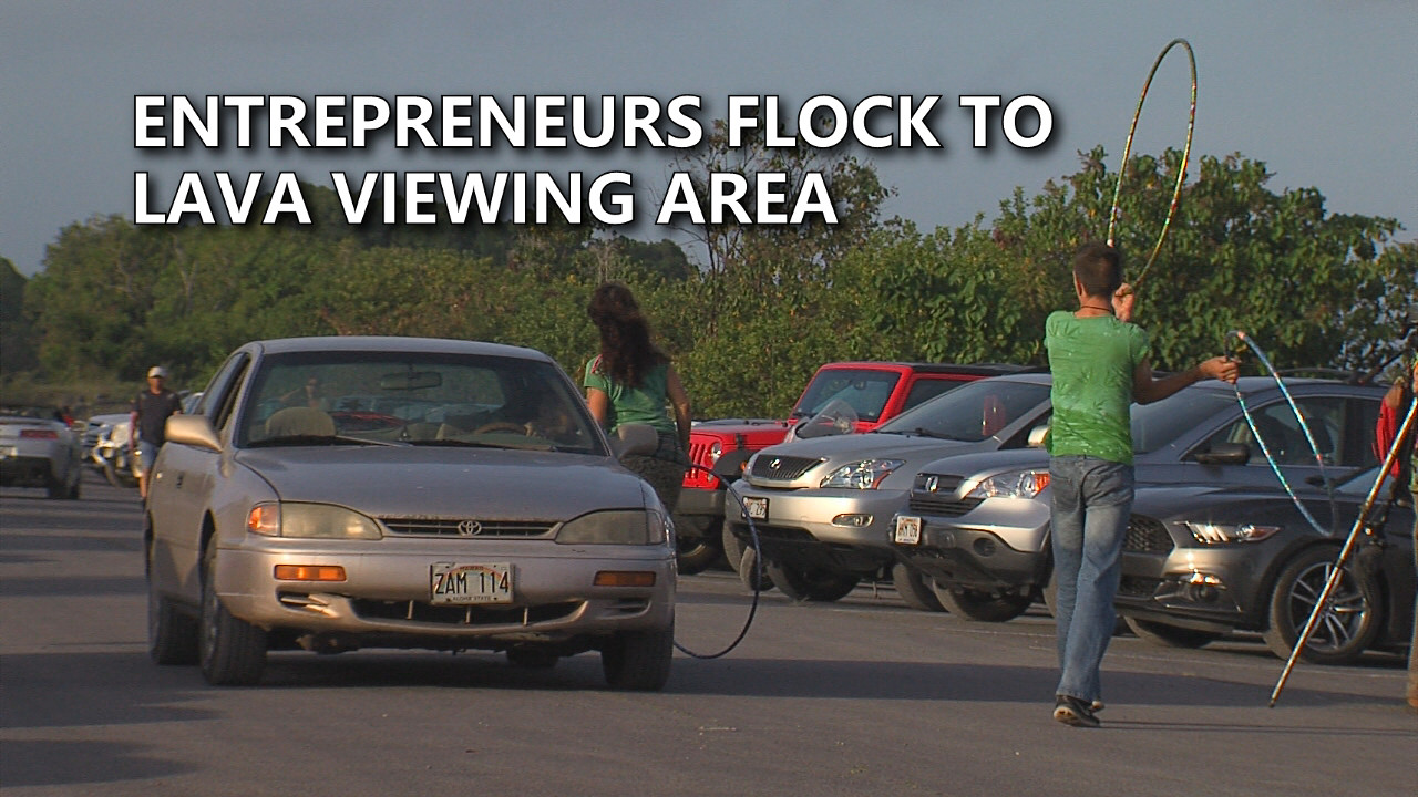 VIDEO: Lava Entrepreneurs Flock To Viewing Area