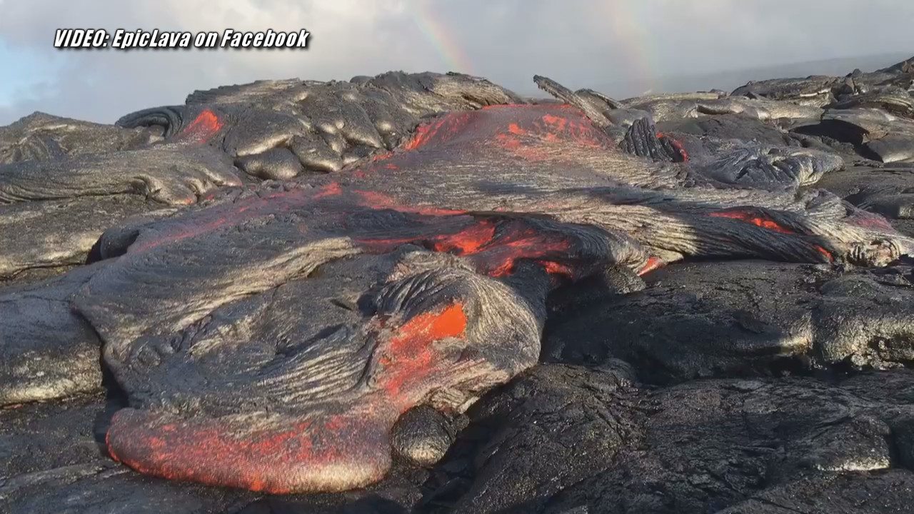 VIDEO: Lava Update – Flow Front Slows On Coastal Plain