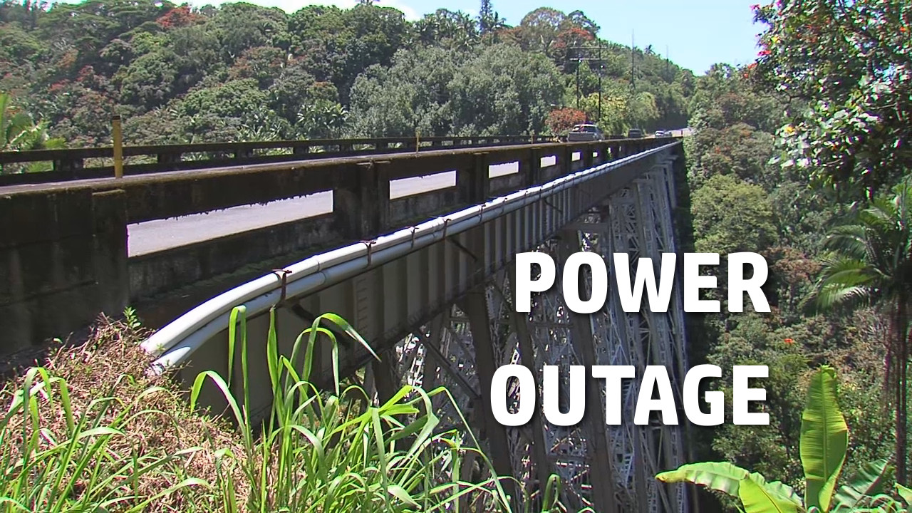 Extended Power Outage Hits Part Of Hamakua Coast