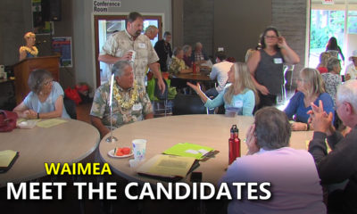 "VIDEO: Political Candidate ""Speed Dating"" In Waimea"