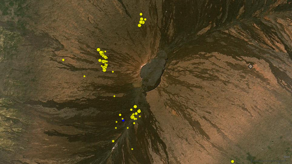 Flurry Of Earthquakes Recorded Under Mauna Loa