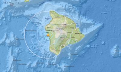 4.3 Earthquake Hits Hawaii Before Tropical Storm Darby