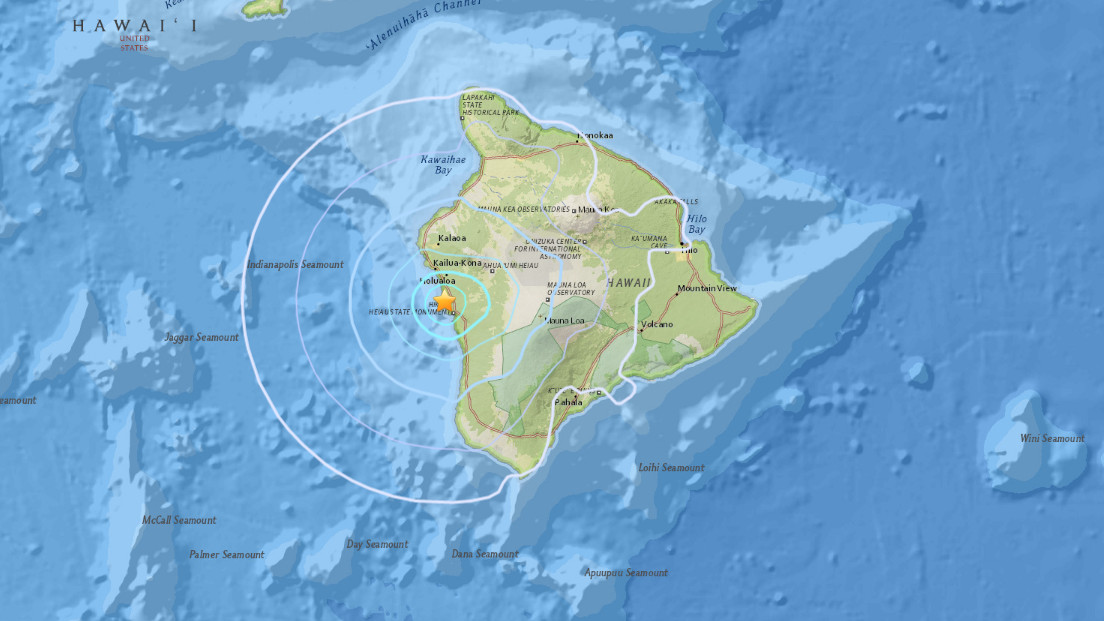 4.3 Earthquake Hits Hawaii Before Tropical Storm Darby