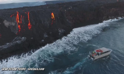 VIDEO: Lava Lobe Starts Another Ocean Entry Point In Hawaii