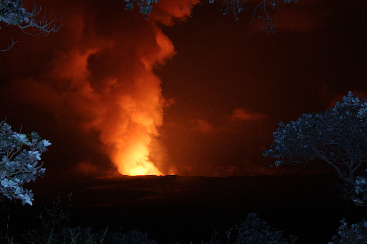 Volcano Explosion Justifies Park Closure, Feds Say