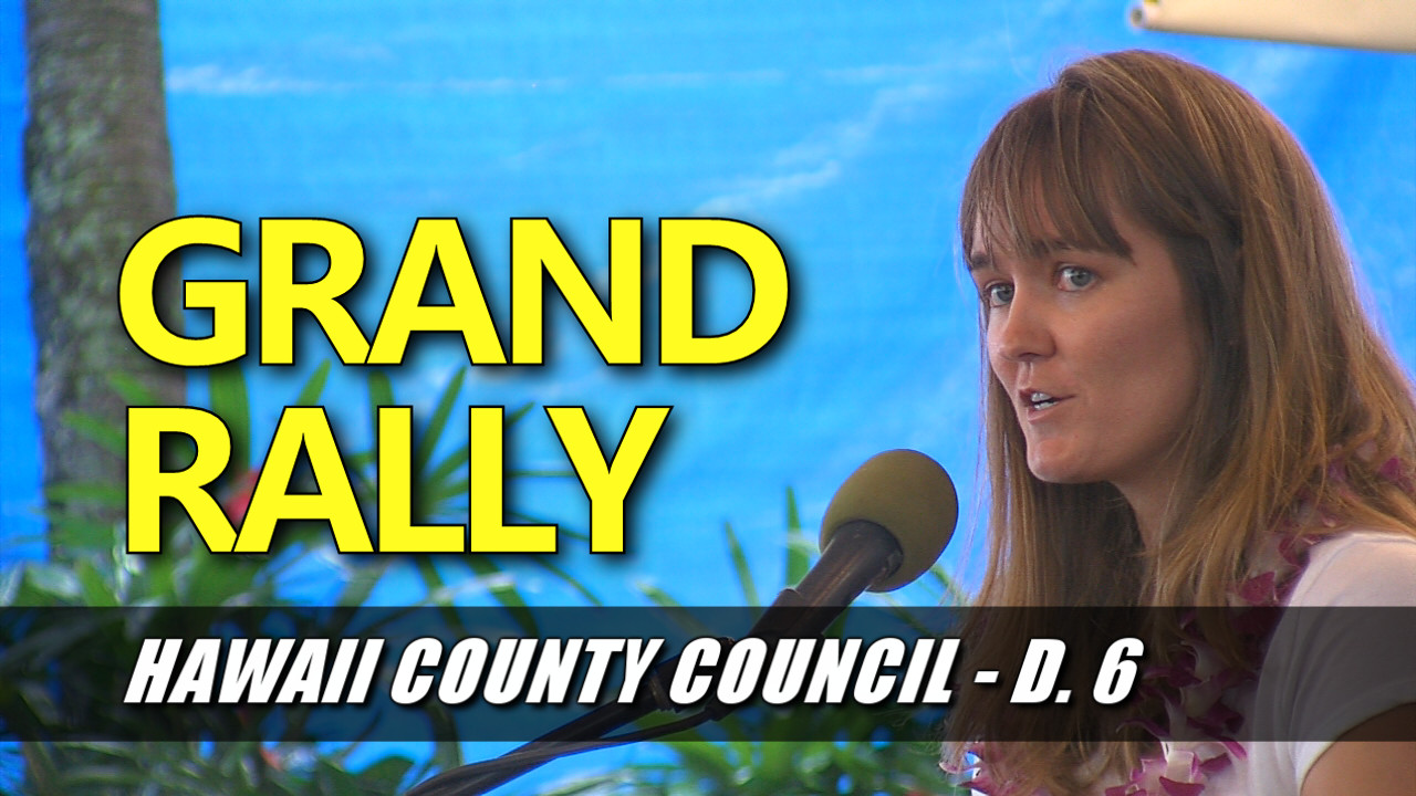 VIDEO: Two Council Candidates Vie For Southern Half of Hawaii