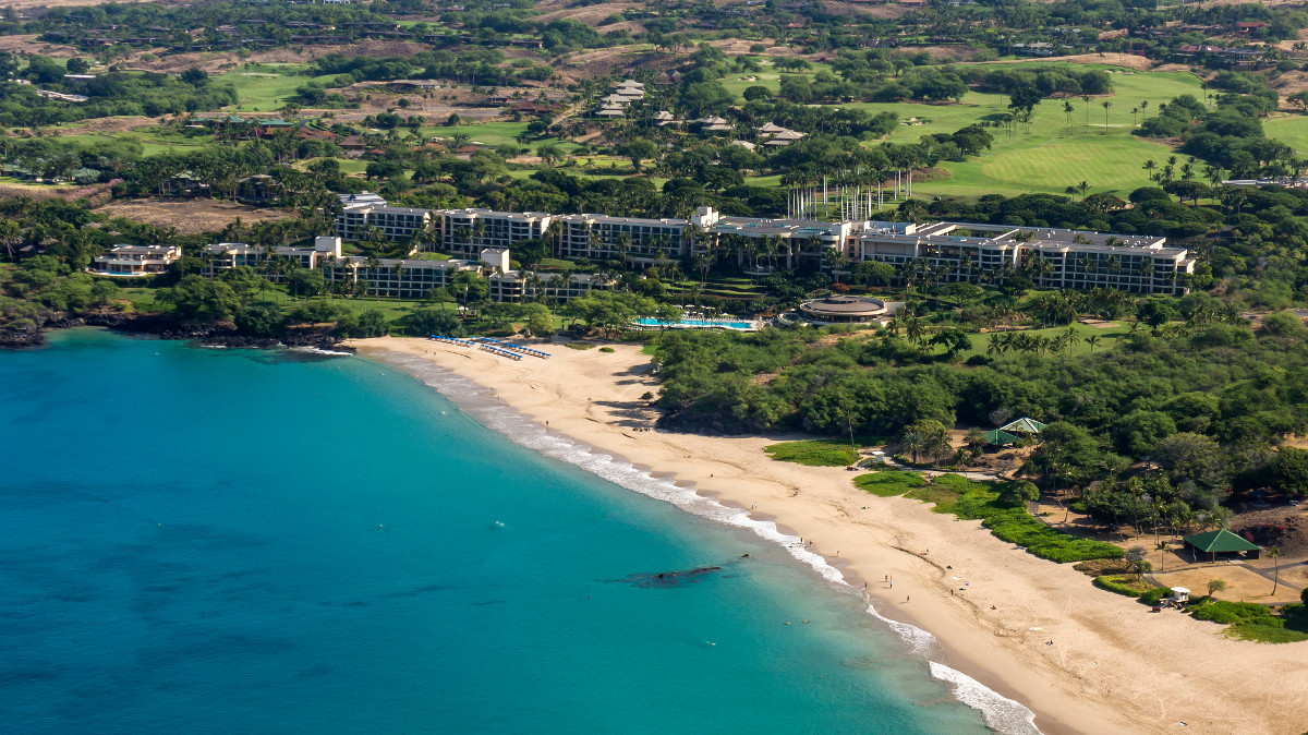 Hapuna Beach Resort In Hawaii