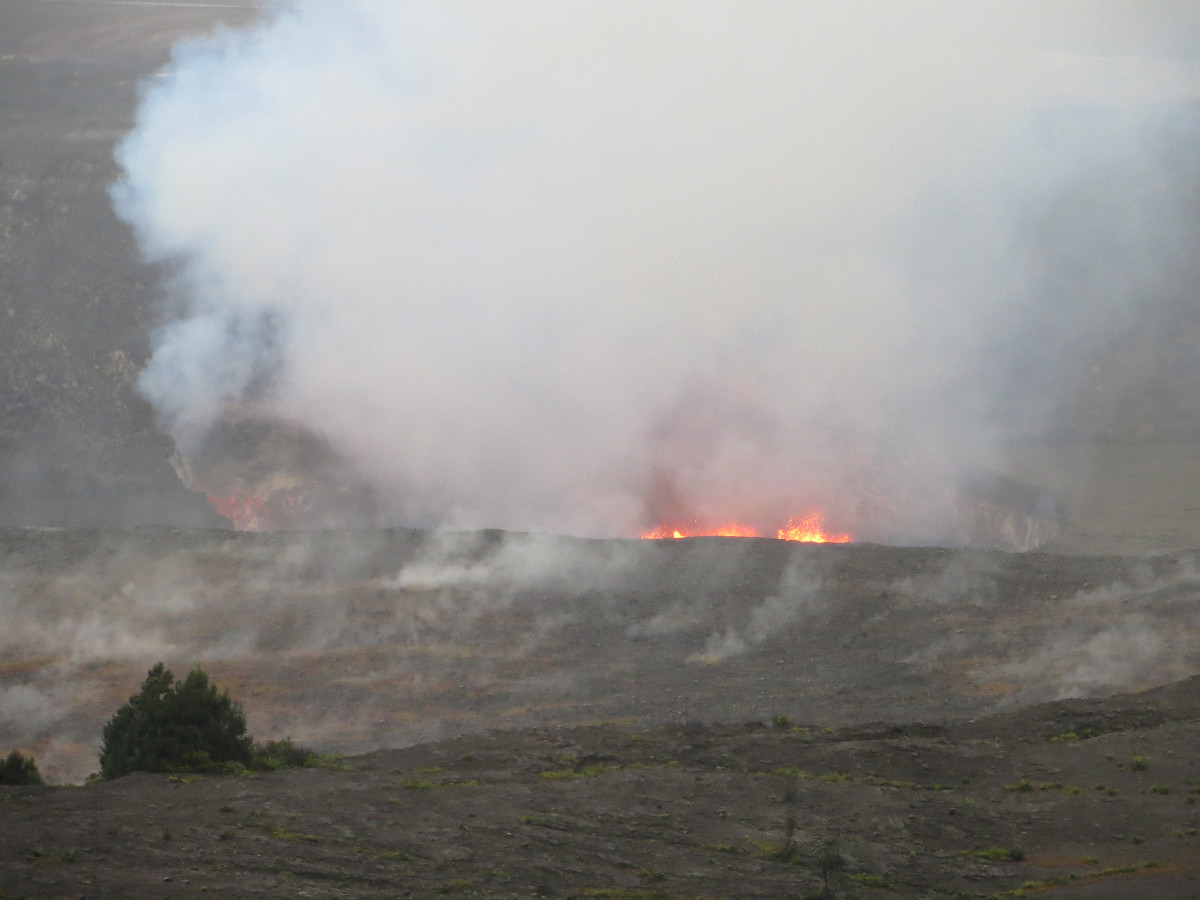 Kilauea Lava Lake Rises To Highest Level In Over A Year