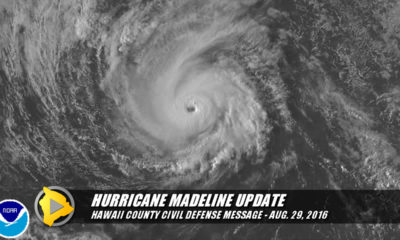 VIDEO: Hawaii Co. Civil Defense Message On Hurricane Madeline