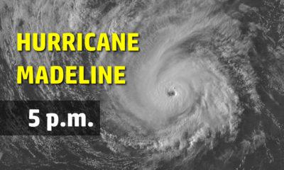 Category Three Hurricane Madeline Threatens Big Island