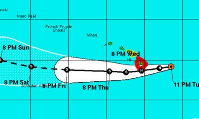 11 pm Hurricane Madeline Update Shows Closer Forecast Track