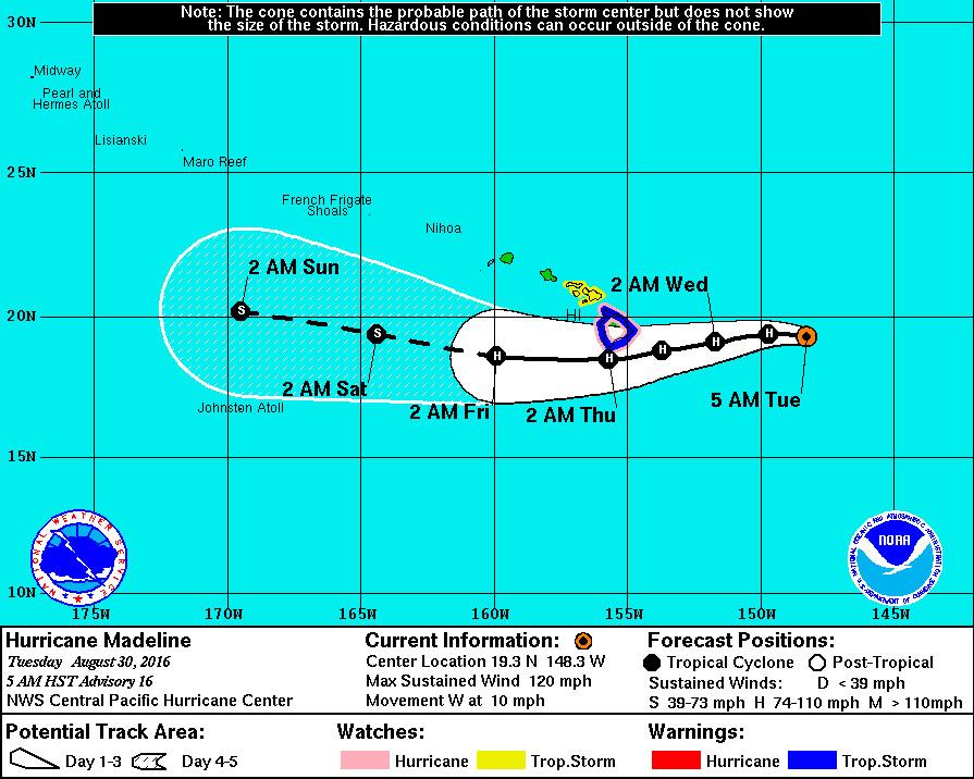 Hurricane Big Island Hawaii