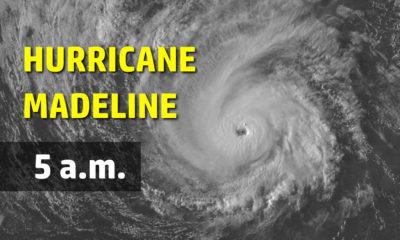 Tropical Storm Warning For Big Island As Hurricane Madeline Nears